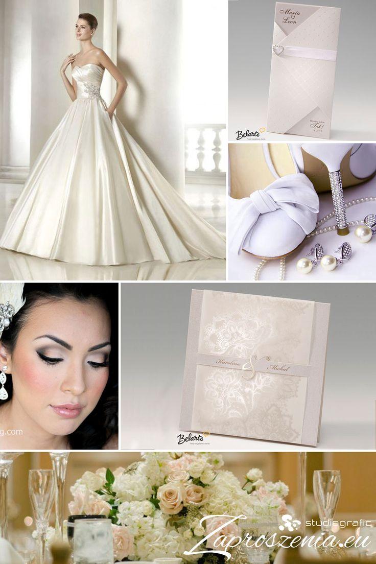Zaproszenia glamour na Twoje wesele i ślub dostępne na zaproszenia.eu