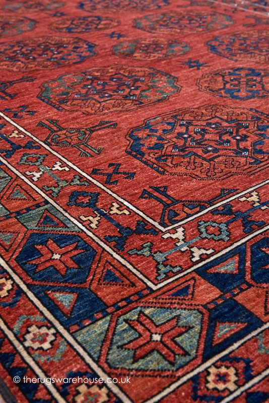 Lovely ... Blue U0026 Green (handmade In Afghanistan)  Http://www.therugswarehouse.co.uk/traditional Rugs/fine Afghan Rugs /ersari 1993 Rug.html #rugs #interiors