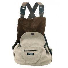 Elegante y moderna mochila transportín para perros pequeños