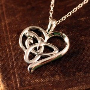 Celtic Mothers Knot Heart  from The Irish Jewelry Company