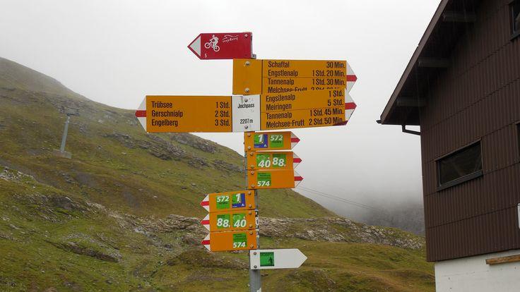 Pass no 5: Jochpass (Via Alpina Switzerland)