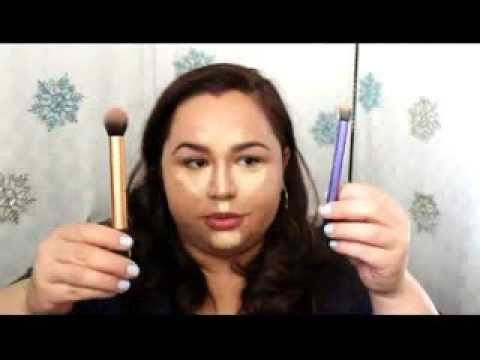 ▶ How I contour and highlight | Round face - YouTube