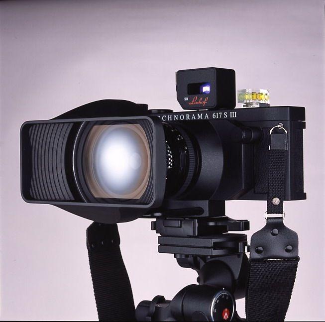 Linhof Technorama 617s III Panoramic flat back camera.