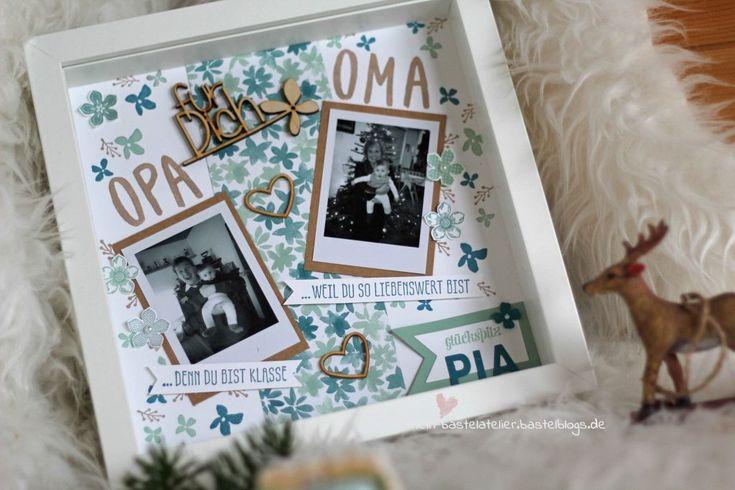 Fotorahmen Oma Opa von Enkelin Geschenkidee RIBBA …