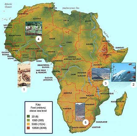 Exploring Africa