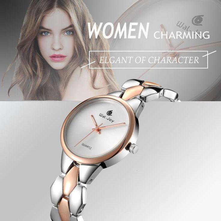WAL-JOY WJ-9001 Luxury Women Quartz Watch Fashion Alloy Strap Ladies Dress Watch  #fashion #watches #jewelry