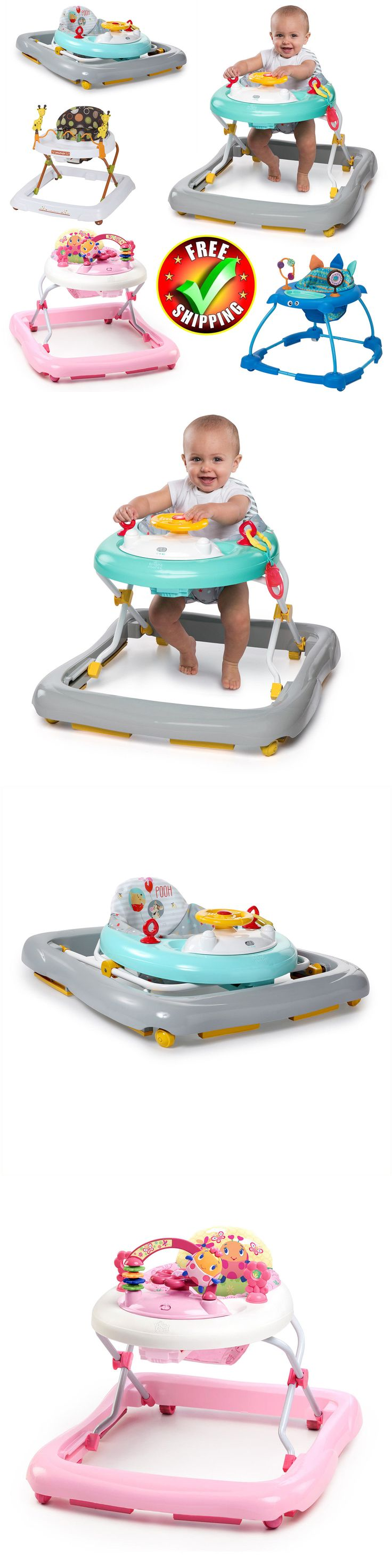 Baby Gear 100223: Baby Walker Activity Center Gym Exersaucer Child Toy Toddler Car Disney New -> BUY IT NOW ONLY: $51.99 on eBay!