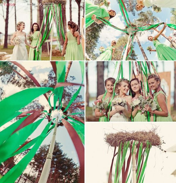 Развлечения на свадьбе в стиле лесная сказка