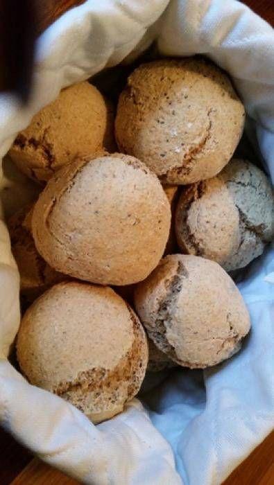 Bytte ut 2 dl vetemjöl mot 2 dl grahamsmjöl. Tillsatte också 2 msk chiafrön.