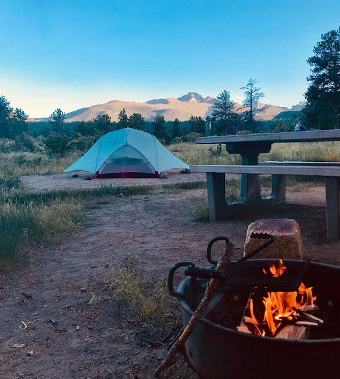 This Might Just Be The Happiest Campground In All Of Colorado Moraine Park Rocky Mountain National Park Colorado