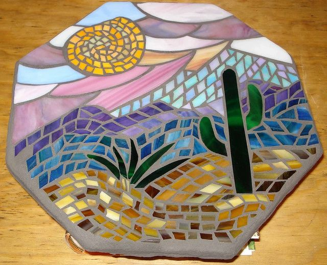 132 best stained glass stepping stone images on pinterest mosaic osaic stepping stones mosaic stepping stone by lt designs via flickr my art pronofoot35fo Images