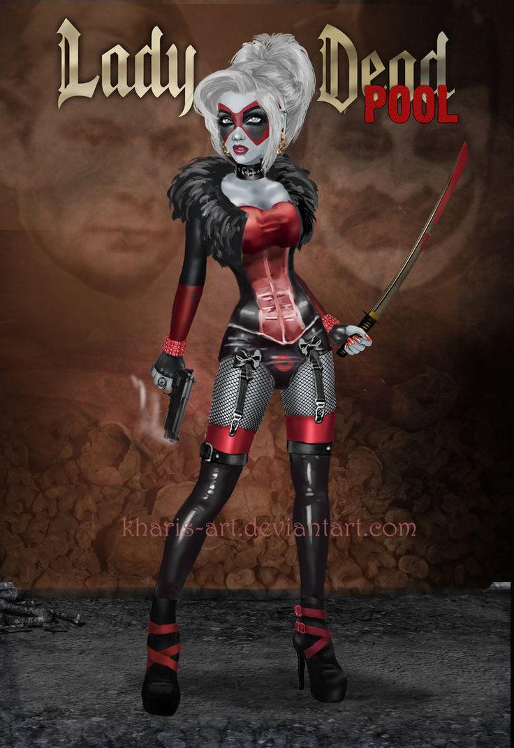 Lady Death - Deadpool by kharis-art on DeviantArt