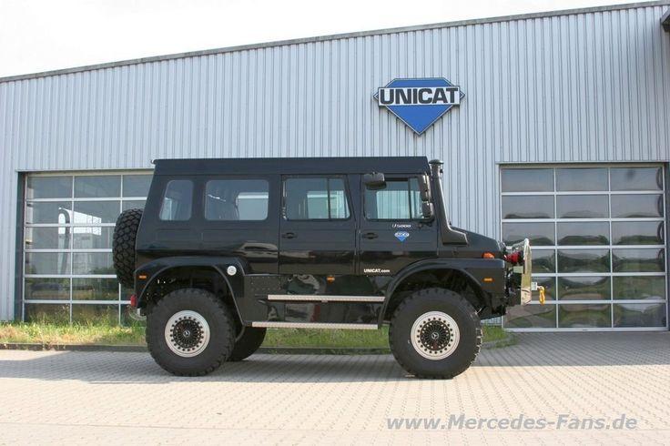 Unimog Prototyp von Unicat: der Über-Mog!: Das ist (besser als ein) Hammer: Unimog-SUV Concept Car - Fotostrecke - Mercedes-Fans - Das Magazin für Mercedes-Benz-Enthusiasten