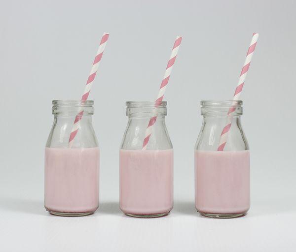 Ned's - Milk Bottle, Glass 200ml (Pack of 10) $10