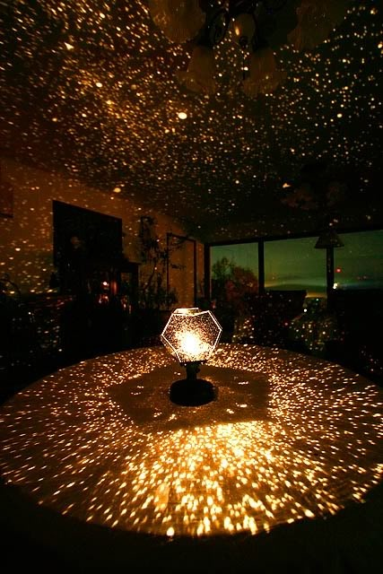 Planetarium effect dancing time!