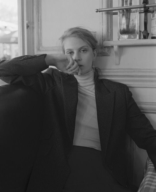 Florence Kosky in Back to Paris Mark Steinmetz for Union Magazine