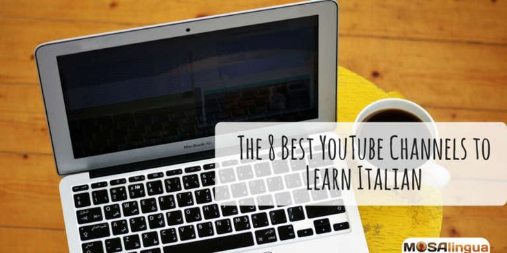 Watching YouTube channels to learn Italian is a great way to learn the language. We've put together our eight favorite Learn Italian YouTube Channels