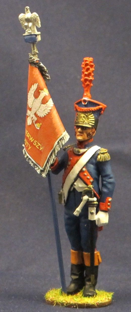 NP 196 GRAND DUCHY DE VARSOVIE, LEGION DU NORD STANDARD BEARER