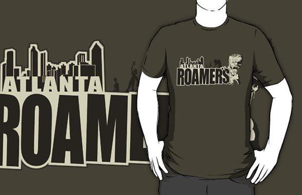 Atlanta Roamers T-Shirt Get yours here: http://tshirtonomy.com/go/atlanta-roamers
