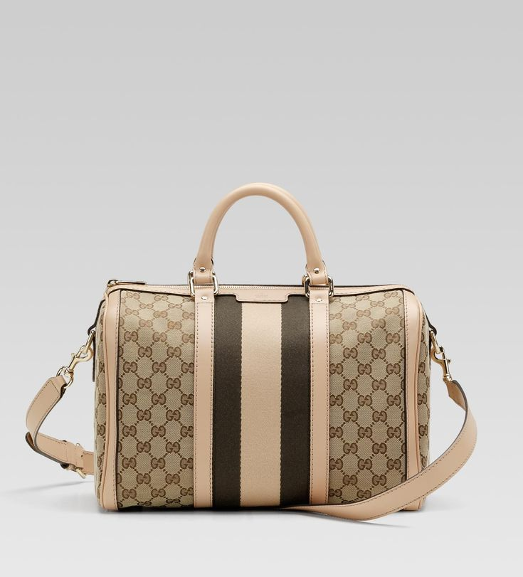 Gucci Bags And Handbags 247205 Fwczg 9792 Vintage Web Medium Boston Bag With Detail 220