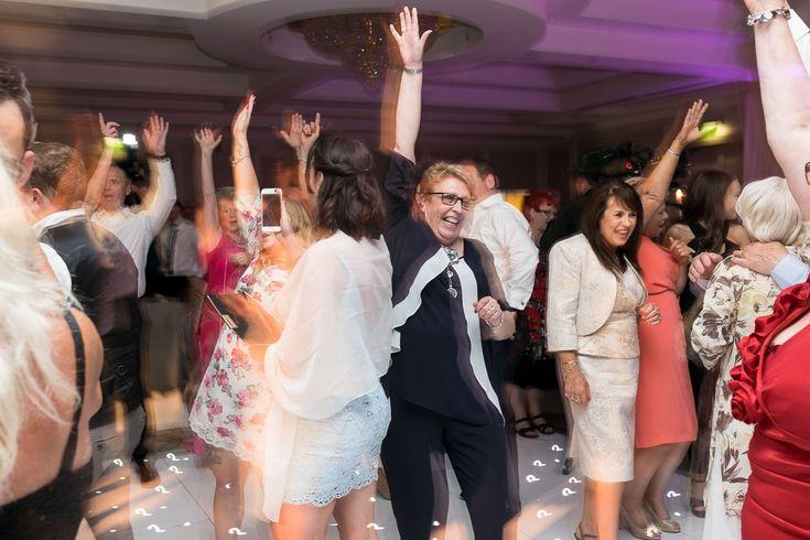 druids glen wedding photographer dancing guests