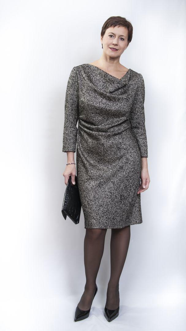 Твидовое платье октября / Фотофорум / Burdastyle