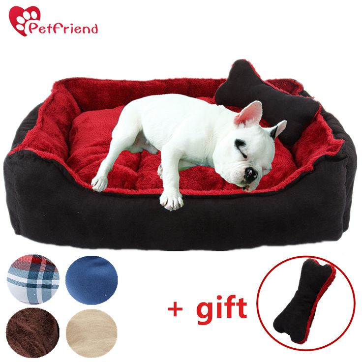 Pet Cat Dog Bed Washable Warm Mat Nest Pad Sleeping Sofa for Small & Median Size Bulldog Yorkshire Modern Design+ Free Gift Toy //Price: $41.32      #shopping
