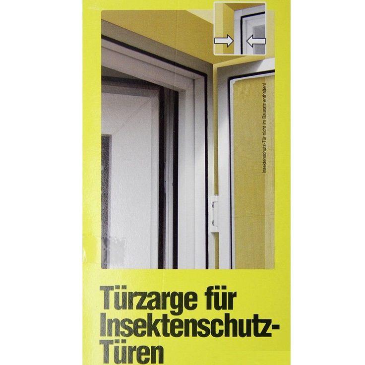 Kein Bohren, einfach einklemmen! Farbe Rahmen: weiß. pulverbeschichteter Aluminiumrahmen. Windhager Zarge für Insektenschutz Tür. Breite und Höhe individuell kürzbar. Für Insektenschutztüren bis max.: 120 x 240 cm. | eBay!