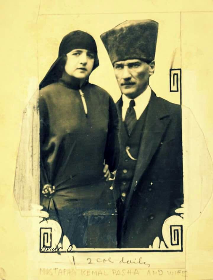 Mustafa Kemal Paşa ve eşi Latife Hanım