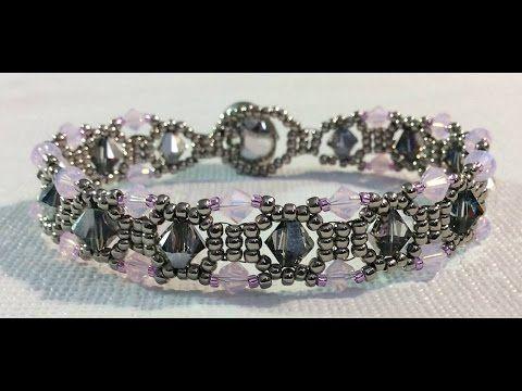 ▶ (Tutorial) Diamond Sparkle Bracelet ( Video 120) - YouTube
