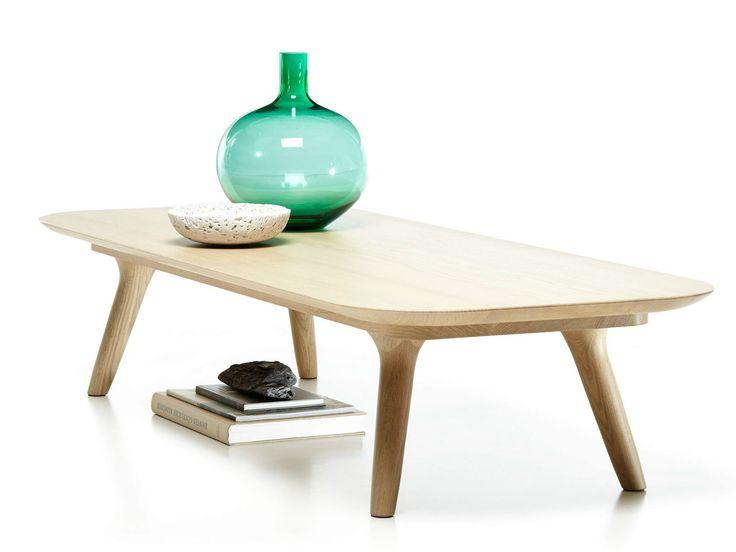 Tavolino rettangolare in rovere ZIO COFFEE TABLE Collezione Zio Family by Moooi© | design Marcel Wanders