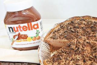 No-Bake Nutella Cheesecake - Dessert Now, Dinner Later!
