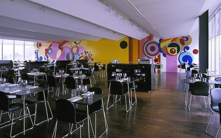 BEATRIZ MILHAZES  Guanabara, 2005  Tate Modern Restaurant Project, London, UK