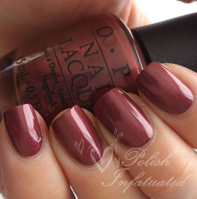 Getting this on for fall......OPI I Knead Sourdough