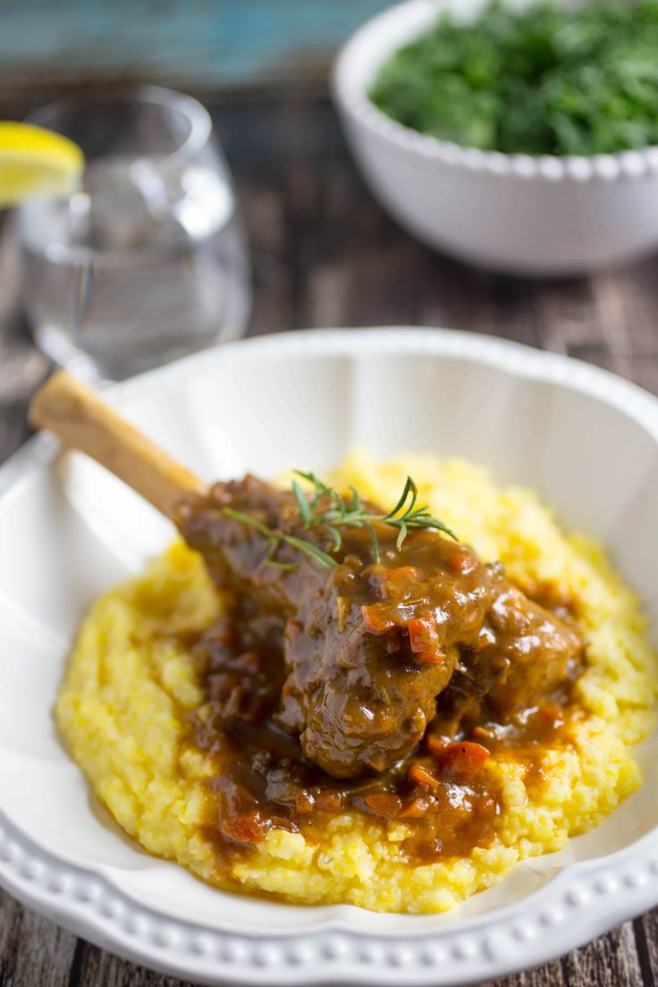 Easy Braised Lamb Shanks 6 - Easy Braised Lamb Shanks Recipe