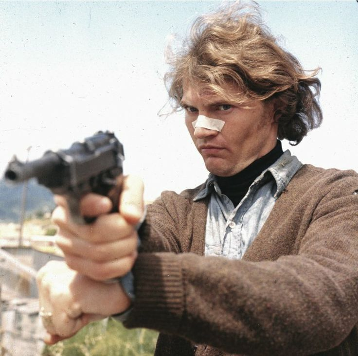"Andrew Robinson as Charles 'Scorpio Killer' Davis in ""Dirty Harry"" (1971)"