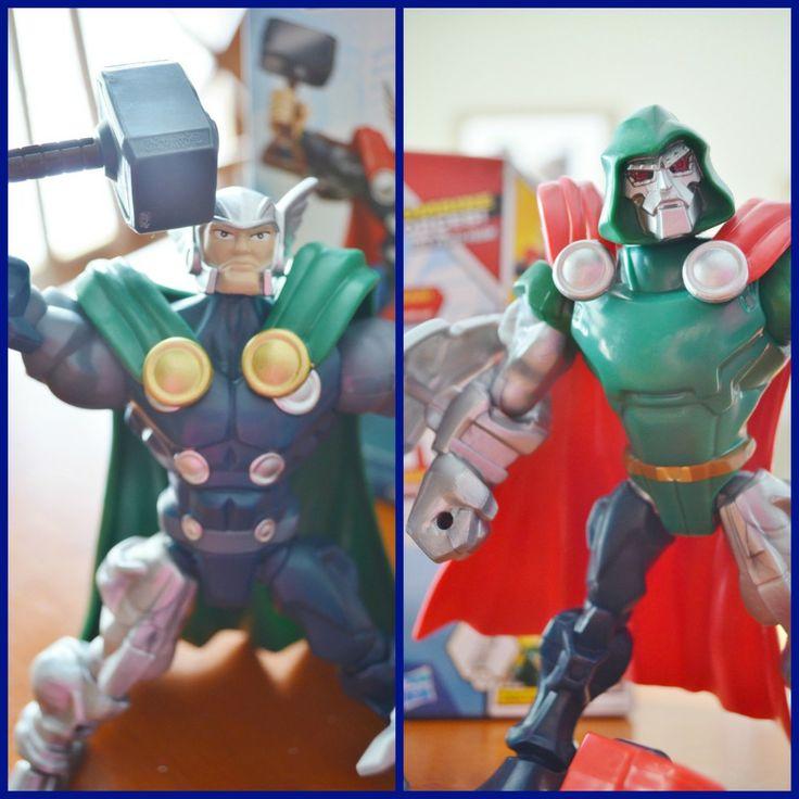 Cool new Marvel Mashers Super Heroes #MyMashUp Mashinator! (ad)