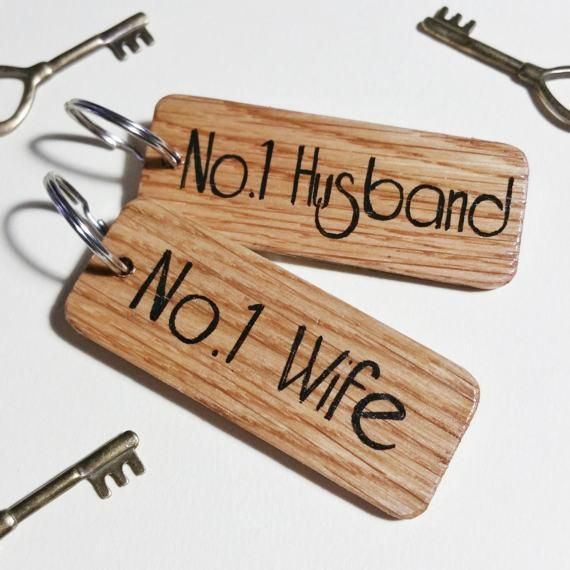 Number 1 Husband Wife Keyring Set l Wooden keyrings l Personalised keyrings l Oak wood keyrings l Rustic  keyring l Keyring gift l driftwood keyring l Home keyring l Hotel  keyring l Large wooden keyring l Couples Keyring l Gift for her l Gift  for him l Keychain l Housewarming Gift l Office Gift l Gift idea l  Handmade Gift l Business Keyring l Personalised Keychain l Logo Keyring l  Name Keyring l Bespoke Keyring l Gift for husband l gift for wife l fifth anniversary gift