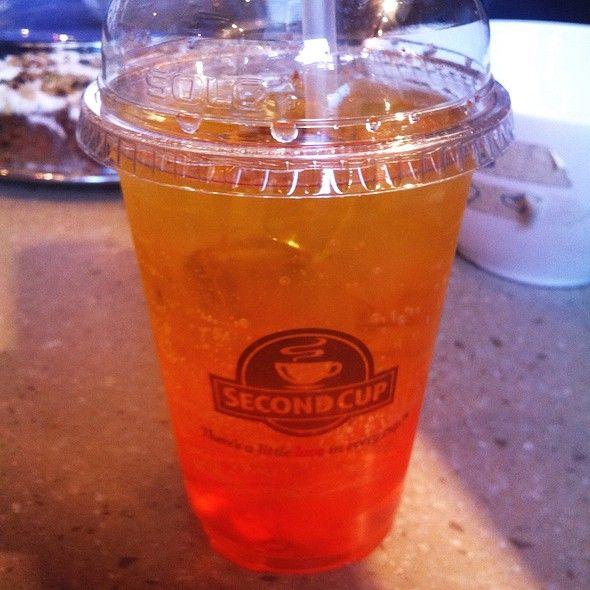 Orange Italian Soda @ Second Cup