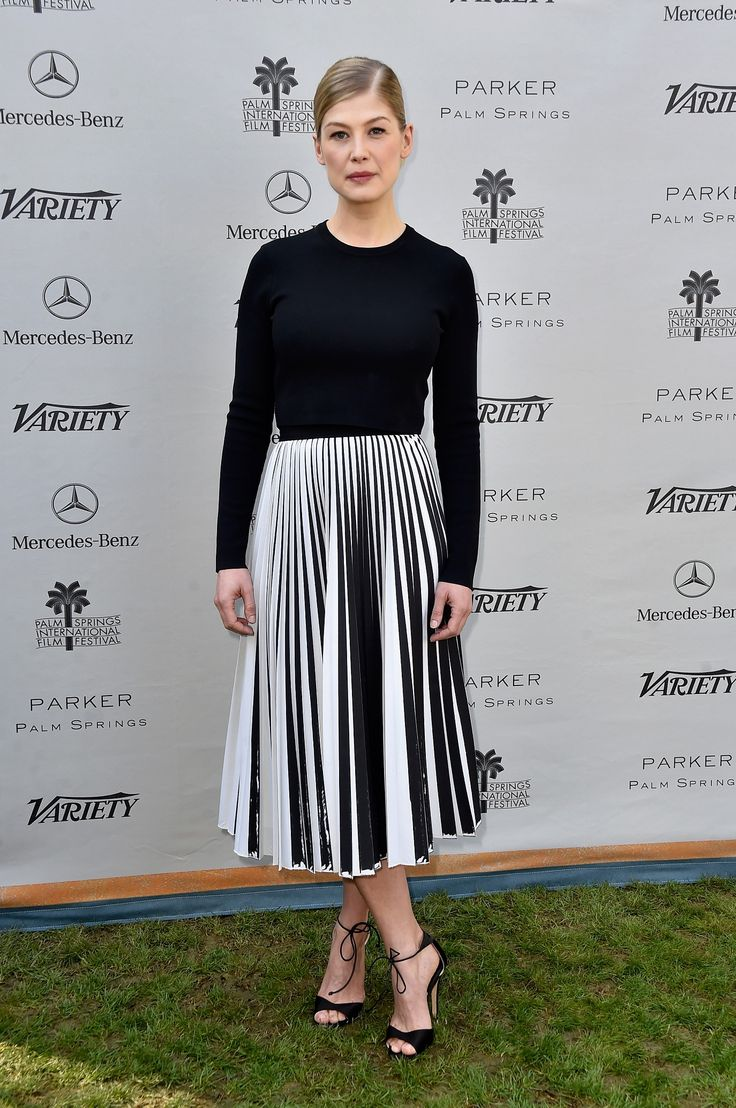 Rosamund Pike at Variety's Creative Impact Awards during the 26th Annual Palm Springs International Film Festival