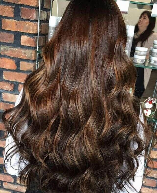 50 Vibrant Fall Hair Color Ideas To Accent Your New Hairstyle Fallhair Fallhaircolor Fallhairstyles Hairtr Long Hair Styles Hair Styles Brunette Hair Color