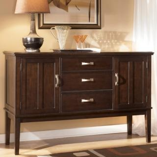 Ashley furniture logan dining room server at big sandy for Discount furniture on line