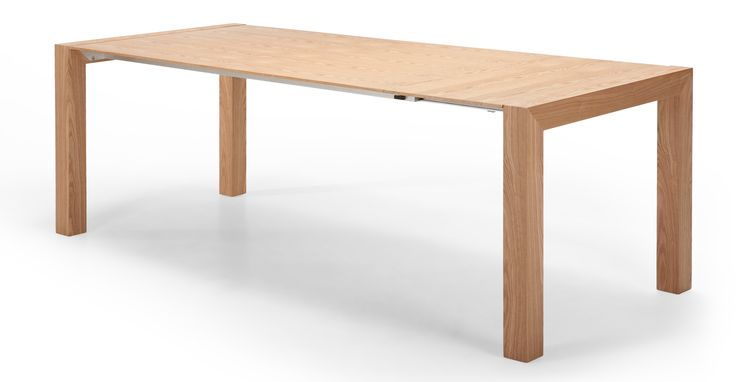Bramante Extending Dining Table, Ash