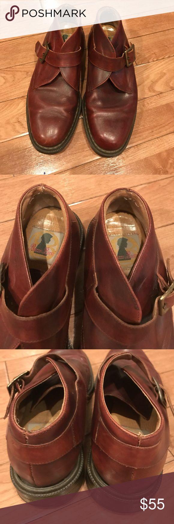 Bacco bucci shoes Sz 7 Leather brown shoes Bacco Bucci Shoes