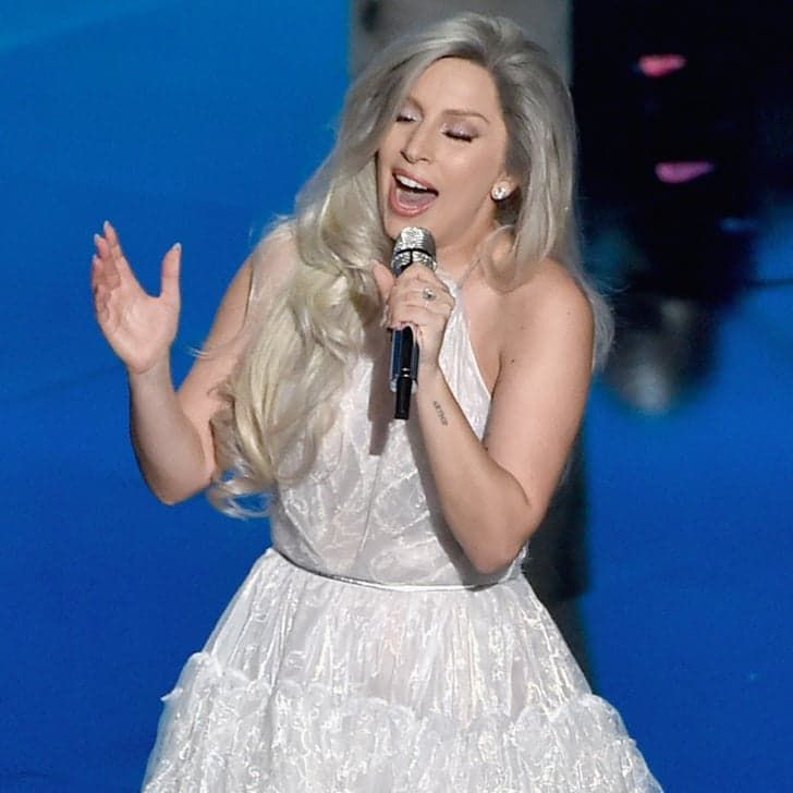 Pin for Later: Lady Gaga's Epic Tribute to Julie Andrews Made the Oscars Worth Watching
