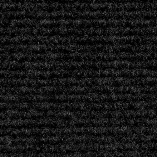Indoor/Outdoor Carpet With Rubber Marine Backing U2013 Black 6u2032 X 10u2032 U2013
