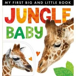My First Big and Little Book: Jungle Baby $12.95