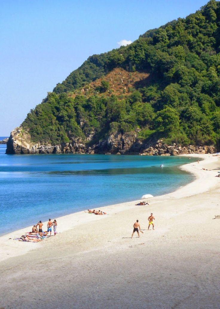 παραλία Άγιοι Σαράντα Πήλιο-Pelion Greece