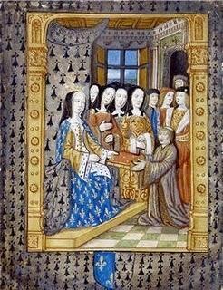 La boda de César Borgia y Carlota de Albret
