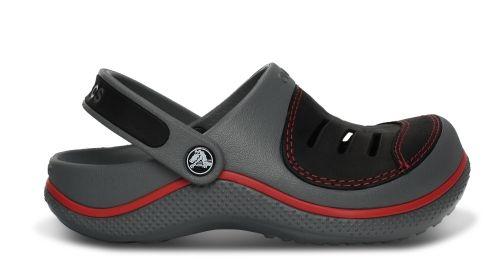Yukon Clog Kids Sie wissen ja: Crocs™ Clogs = unvergleichlich bequem. Der Crocs™ Yukon bietet den Komfort von Clogs plus Lederdetails für eine noch robustere Raffinesse.